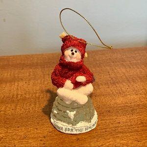 Boyds Bears Iggy Lou Frostley Snow Doodle Ornament